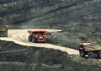 Operasional tambang batu bara kelompok usaha Bumi Resources./bumiresources.com