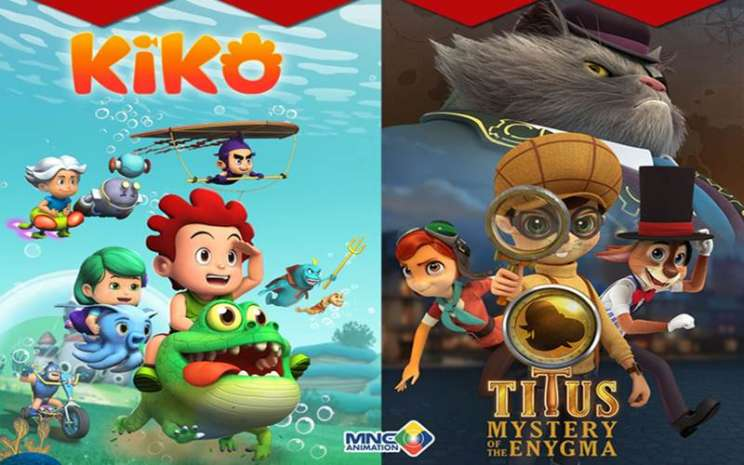 Animasi Kiko dan Titus