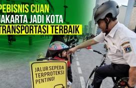 Gara-Gara Jalur Sepeda, Jakarta Jadi Kota Transportasi Terbaik?