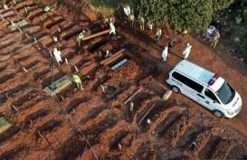 Waduh! Blok Makam Jenazah Covid-19 Muslim TPU Pondok Ranggon Penuh