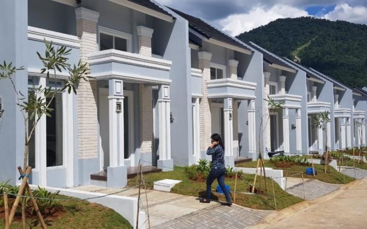 Pemandangan salah satu klaster perumahan di Sentul City. - istimewa