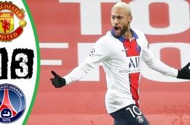 Hasil Liga Champions : MU Dihajar PSG di Old Trafford,…