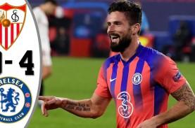 Hasil Liga Champions : Chelsea Pesta Gol di Sevilla,…
