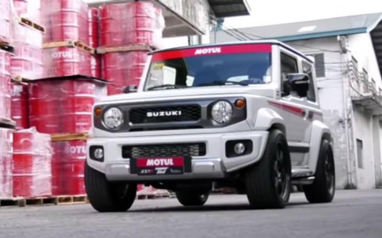 Suzuki Jimny Modifikasi.  - Drives Park