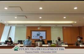 Jelang Akhir Tahun, Ciputra Development (CTRA) Raup Marketing Sales Rp3,8 Triliun