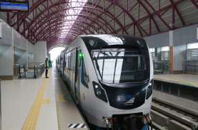 KAI Divre III Tambah Perjalanan LRT Sumsel