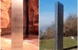 Monolit Logam di Bukit Rumania Menghilang Misterius