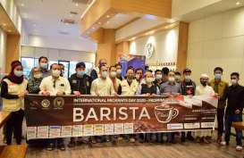 Peringati Hari Migran se-Dunia, WNI di Riyadh Berlatih jadi Barista