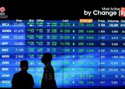 10 Saham Top Gainers, Ada Alfa Energi  Hingga Bank Jago