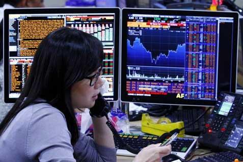 Dalam sepekan  ini, BBRI, BBCA dan TLKM menjadi saham yang paling banyak diperdagangkan. - ilustrasi