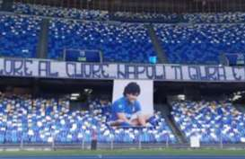 Napoli Resmi Ubah Nama Stadion San Paolo Menjadi Diego Maradona