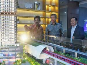 URBN Buka Marketing Gallery Project Urban Suites di Bekasi
