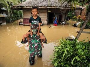 Banjir di Aceh Utara Terus Meluas