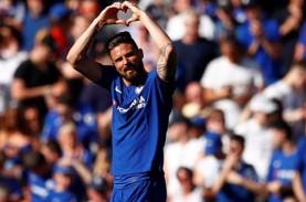 Hasil Liga Inggris : Lagi-lagi Giroud Gemilang, Chelsea…