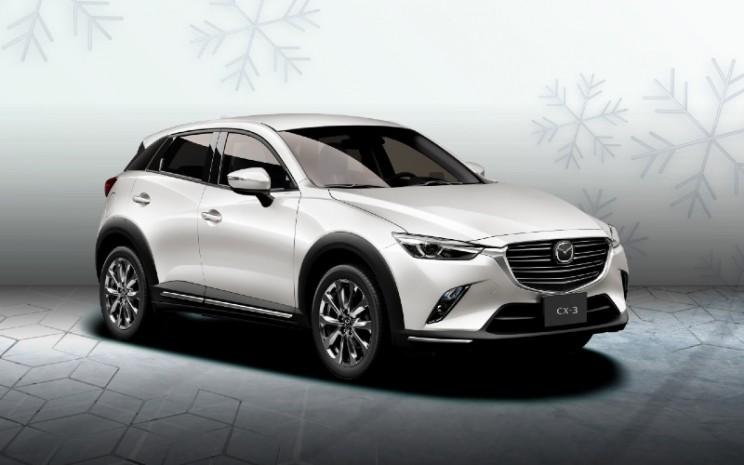 Mazda CX-3 White.  - EMI