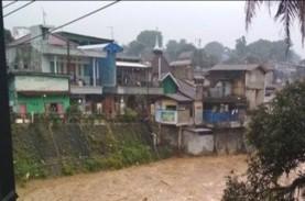 Kali Ciliwung Meluap, 23 RT di Jakarta Timur dan Jakarta Selatan Kebanjiran
