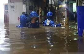 Ciliwung Meluap, 34 RT Terendam Banjir