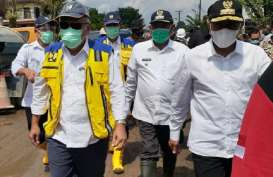 Tanggulangi Banjir, Kementerian PUPR Bangun Groundsill di Kota Medan
