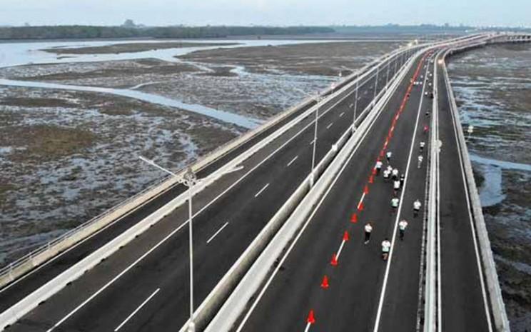 Jalan tol Bali Mandara - Antara / Fikri Yusuf