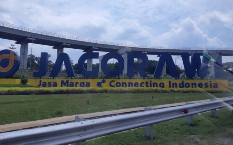 Tengara Jagorawi di bilangan Cibubur, Jakarta Timur. - Istimewa