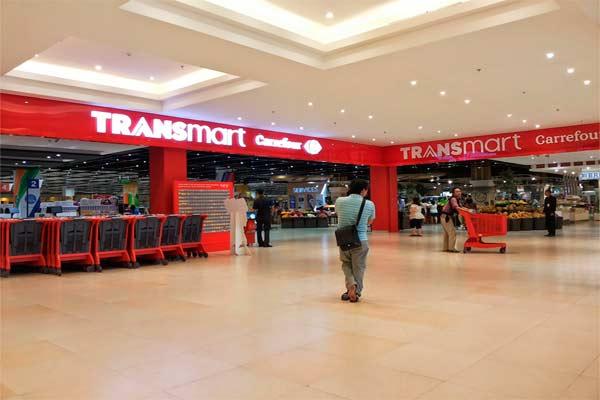 Transmart Carrefour.  - echaimuttenan