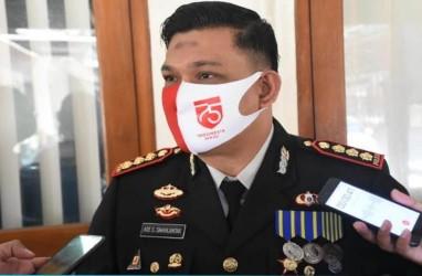 Kapolresta Solo Pantau Langsung Keamanan di TPS Gibran Mencoblos