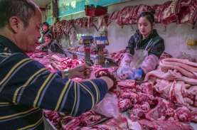Harga Konsumen China Turun Pertama Kalinya Sejak 2009
