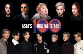 Selebriti Asia-Pasifik Paling Berpengaruh di Media…