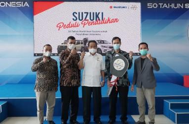 Suzuki Indonesia Donasikan Lima Mobil Praktik Institusi Pendidikan