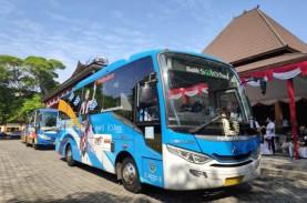 Berkeliling Yogyakarta dengan Teman Bus