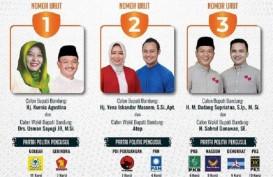 Pilkada Kabupaten Bandung: 3 Paslon Sama-sama Optimistis Menang