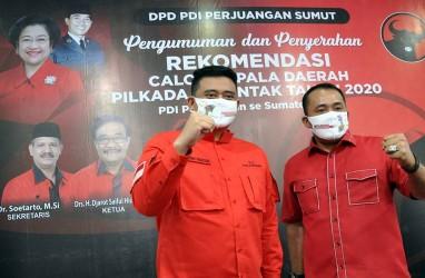 Quick Count Charta Politika di Pilkada Medan: Mantu Jokowi Unggul 55 Persen