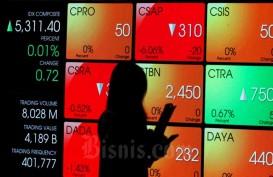 KINERJA PASAR MODAL  : Asa Saham Sektor Keuangan
