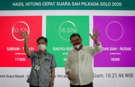 Hebat! PDIP Sapu Bersih Kemenangan di Pilkada Soloraya 2020