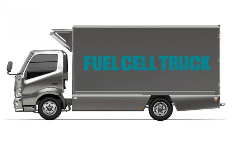 Truk Hidrogen. Toyota dan Hino telah memposisikan hidrogen sebagai sumber energi penting untuk masa depan.  - Toyota