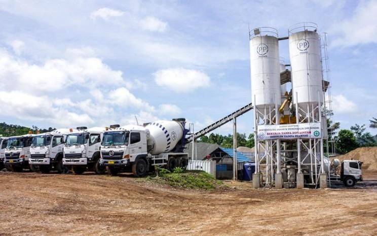 Batching plant dan armada ready mix beton PT Presisi Tbk. - ppre