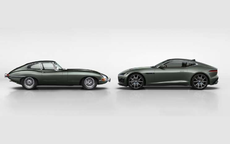 Jaguar F-Type, dan Jaguar 575PS V8 Supercharged F-Type Heritage 60 Edition.  - Jaguar