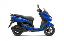 Suzuki India Tertangkap Uji Coba Burgman Elektrik
