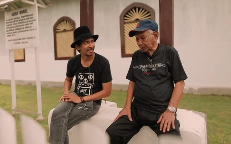 Bing Leiwakabessy menjadi sosok yang menginspirasi Rido Slank untuk menuntaskan albumnya. - istimewa