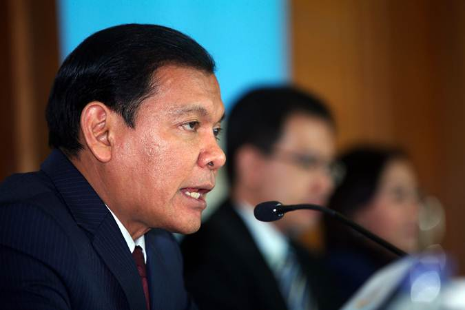 CEO Citibank Indonesia Batara Sianturi memberikan paparan kinerja keuangan Citibank N.A., Indonesia periode tahun 2018 di Jakarta, Jumat (29/3/2019). - Bisnis/Abdullah Azzam