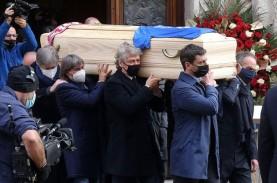 Alangkah Tega, Paolo Rossi Dimakamkan, Rumahnya Dibobol…