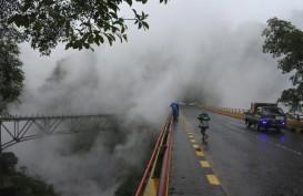 Lahar Dingin di Aliran Sungai Gunung Semeru Dipicu Kenaikan Debit Air