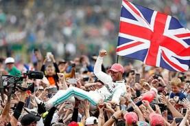 Nama Lewis Hamilton Diabadikan di Sirkuit Silverstone