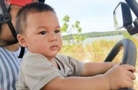 Lucu Banget, Kiano Wong Bisa Buka Kulkas Sendiri