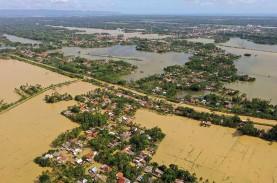 Banjir Rendam Cilacap, BMKG: Hujan Lebat Hingga Sangat…