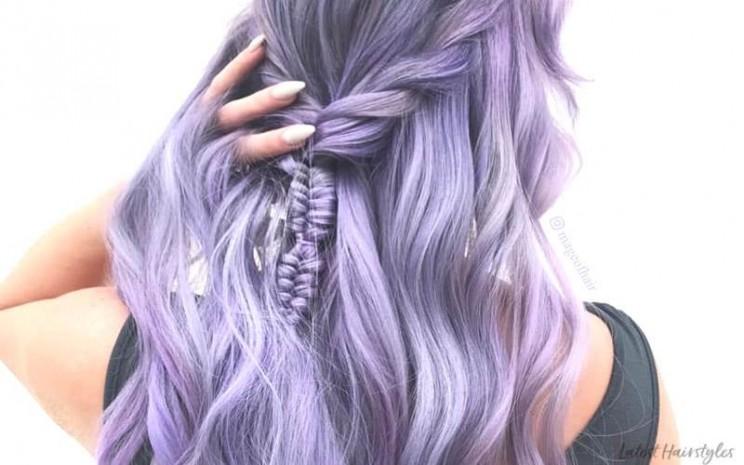 Rambut purple