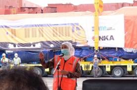 INKA Ekspor Perdana Lokomotif dan Kereta ke Filipina