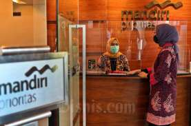 Masa Pandemi, Dana Kelolaan Nasabah Tajir Bank Mandiri…