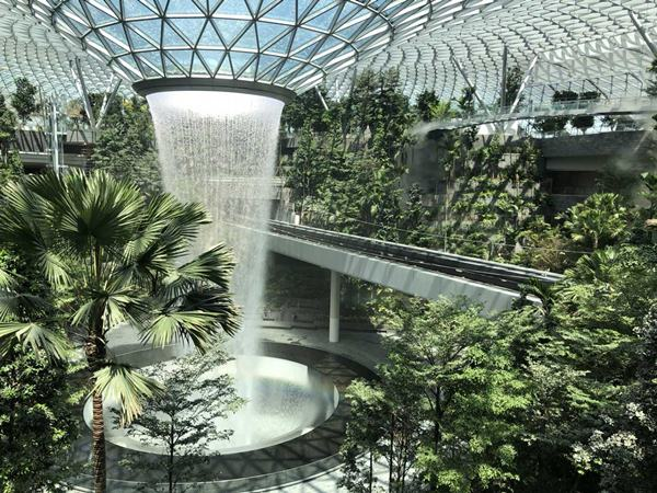 Jewel Changi Airport - architecturaldigest