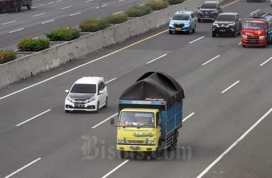 Sejumlah Truk ODOL Terjaring Operasi di Jalan Tol